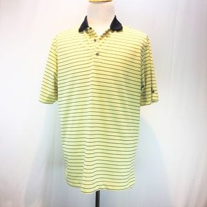 FOOTJOY XL Polo Shirt Pinnacle Golf Logo Yellow